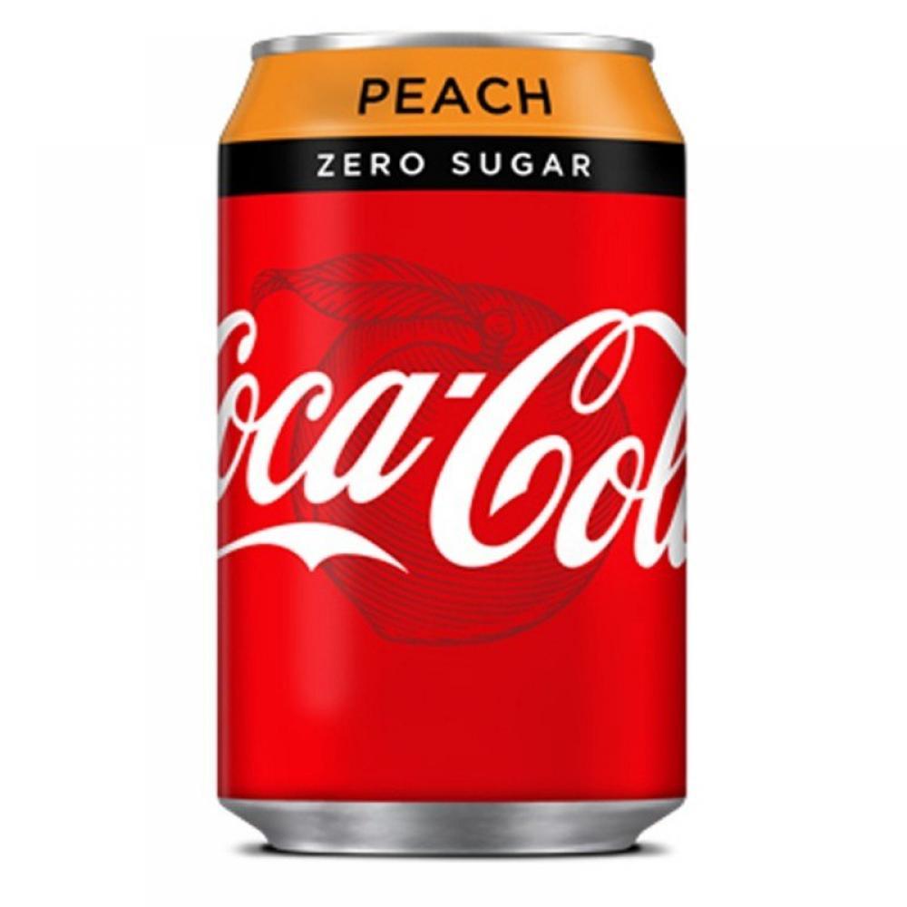 Coca Cola Zero Peach 330ml
