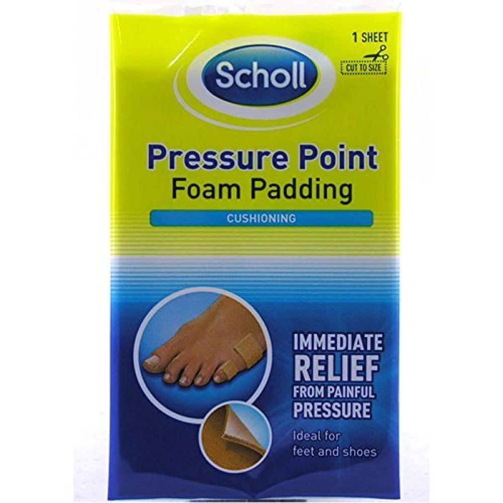 Scholl Pressure Point Foam Padding 1 sheet