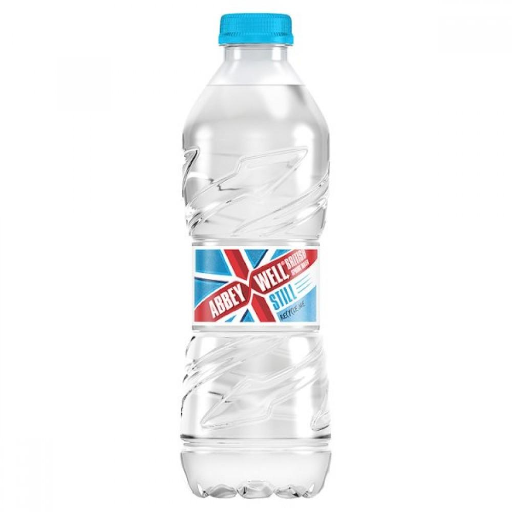 Schweppes Abbey Well Still British Spring Water 500ml