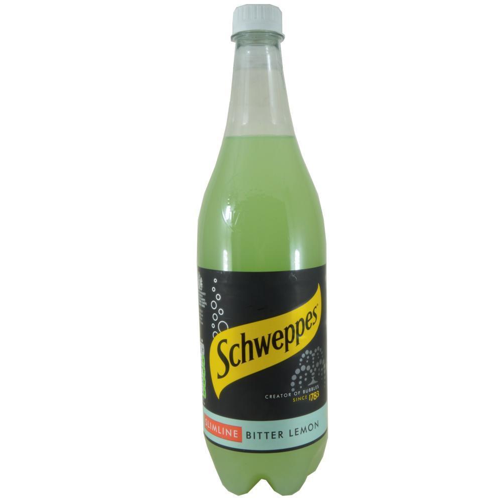 Schweppes Slimline Bitter Lemon 1l