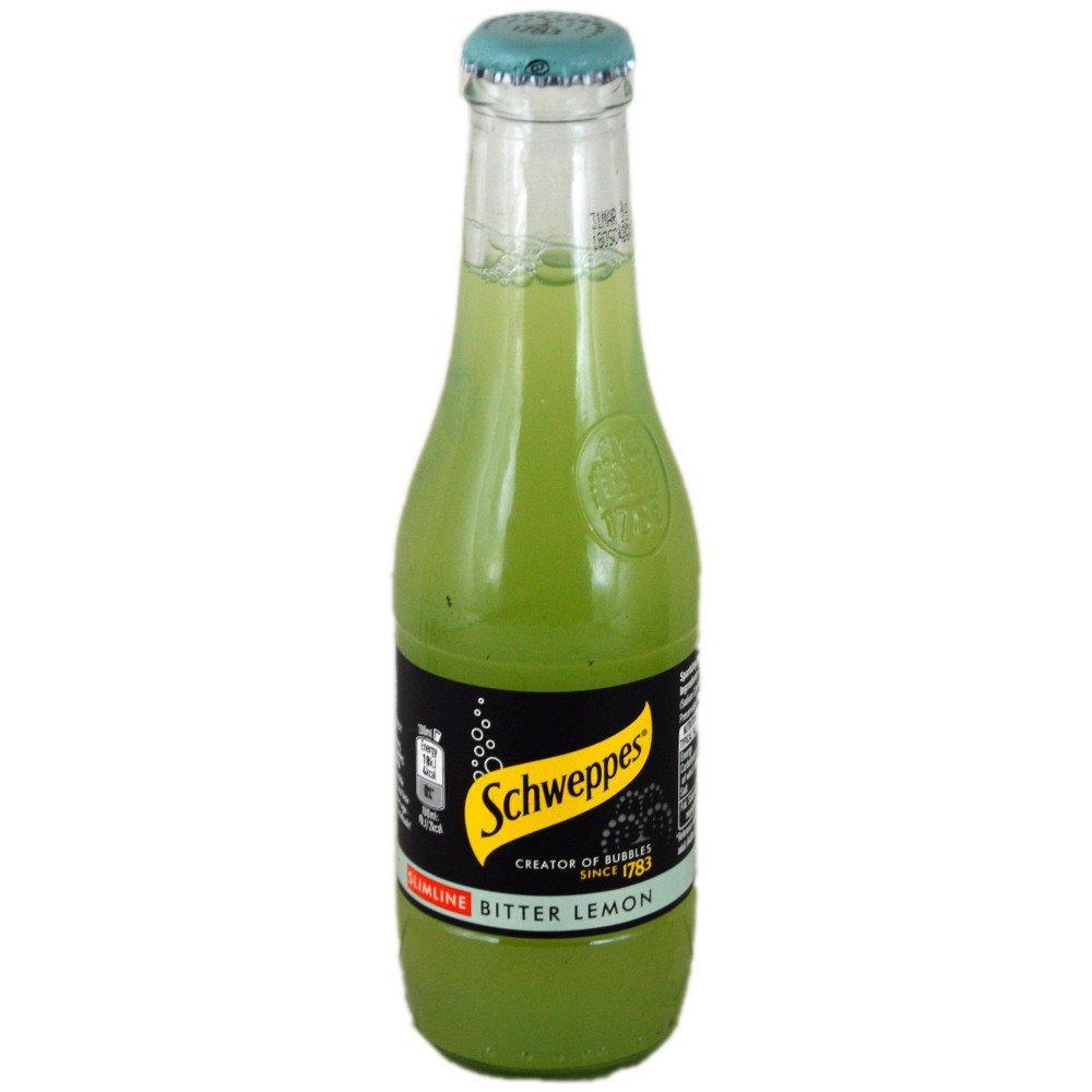 Schweppes Slimline Bitter Lemon 200ml