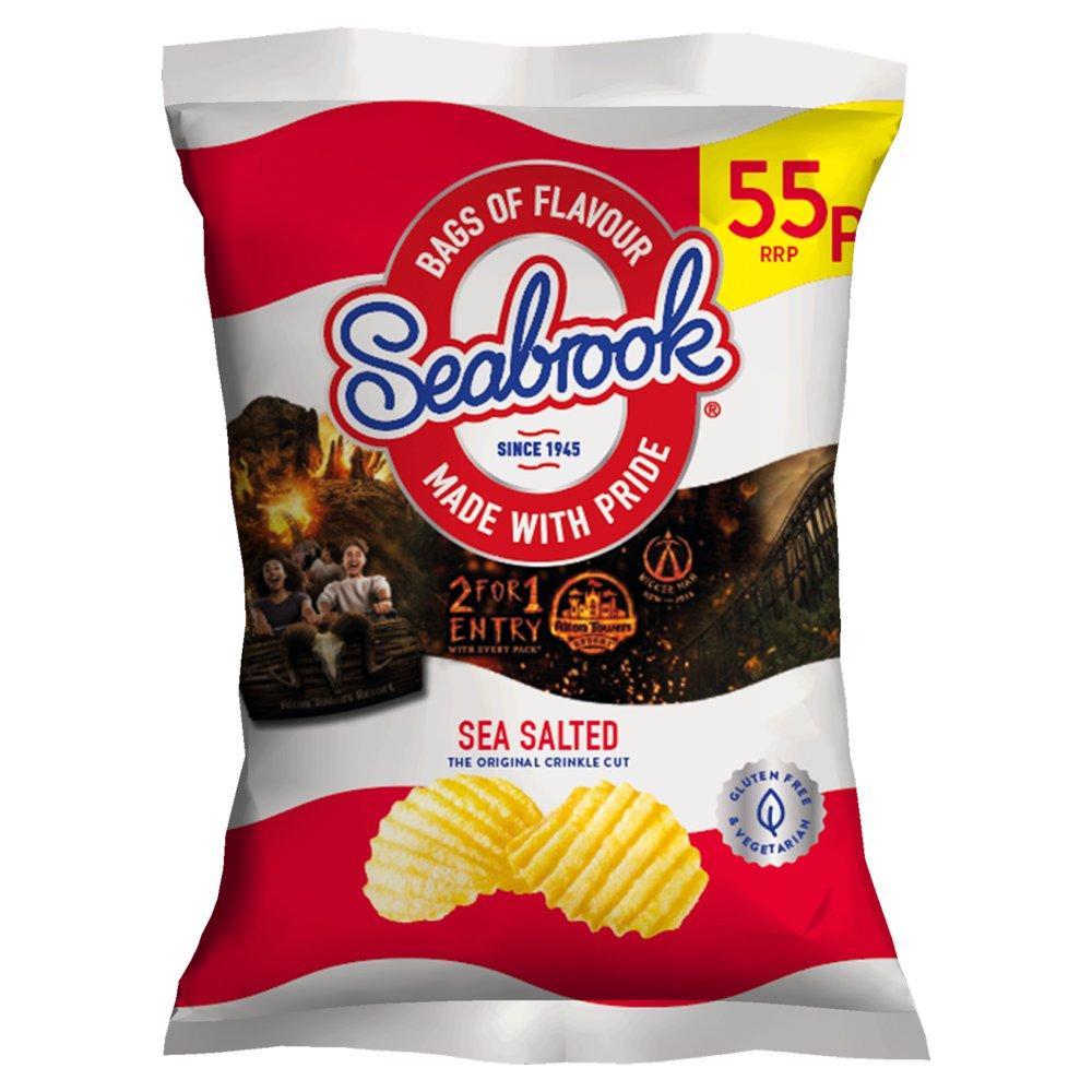 Seabrook Sea Salted Crisps 31.8g