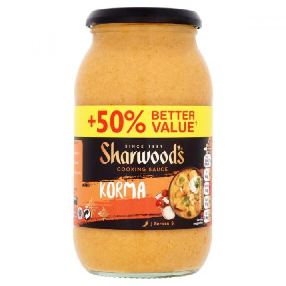 Sharwoods Korma Cooking Sauce 720g