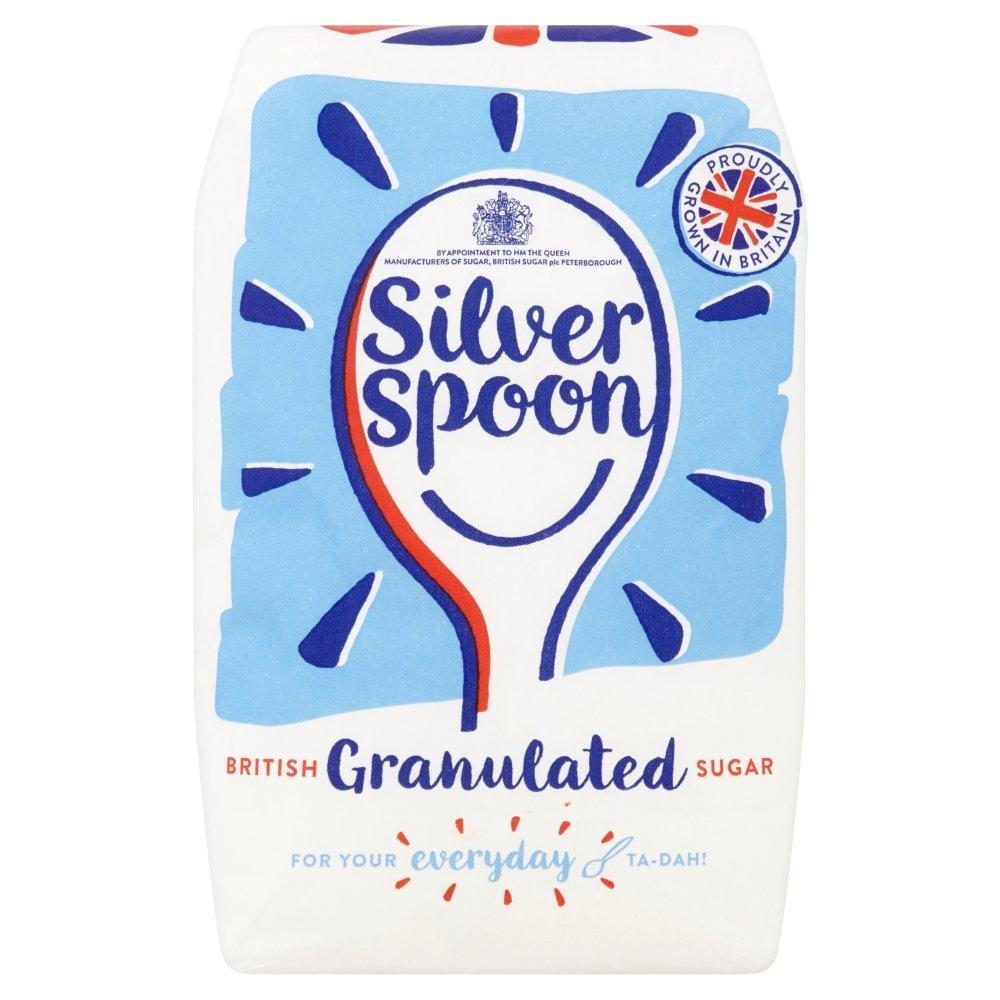 Silver Spoon Granulated Sugar 1kg
