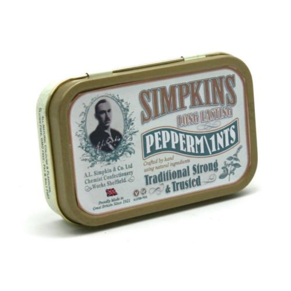 Simpkins Long Lasting Peppermints 40g