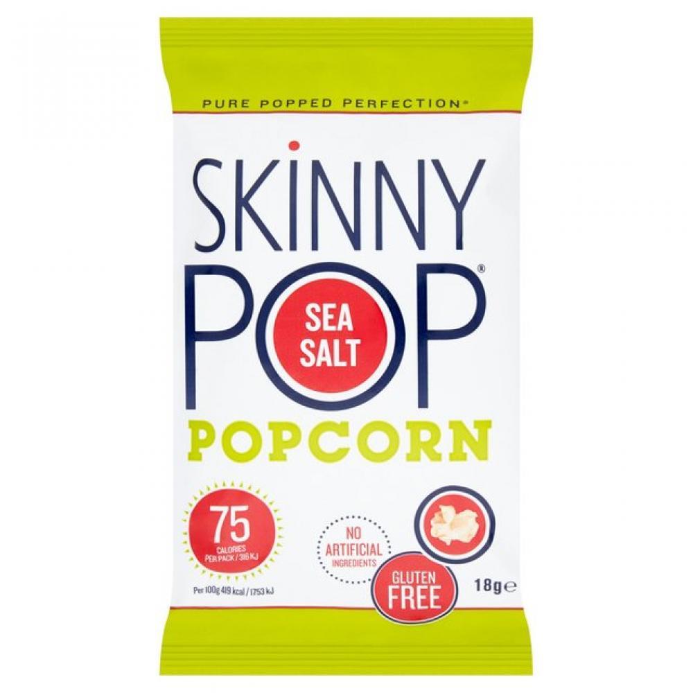 Skinny Pop Sea Salt Popcorn 18g