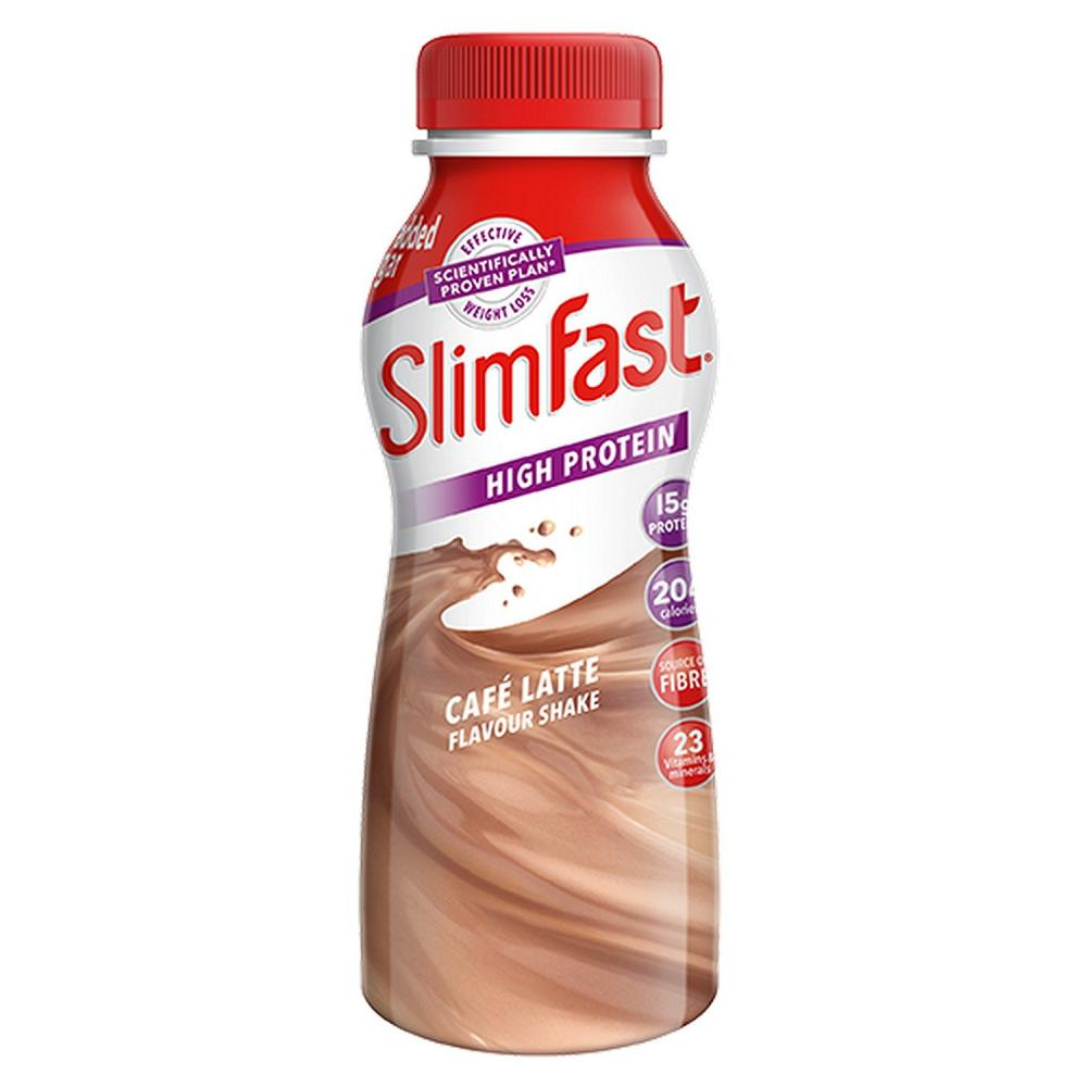 Slim Fast Cafe Latte Shake Bottle 325 ml