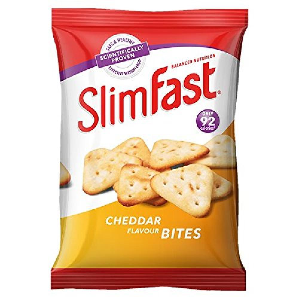 SlimFast Cheddar Bites Snack Bag 22g