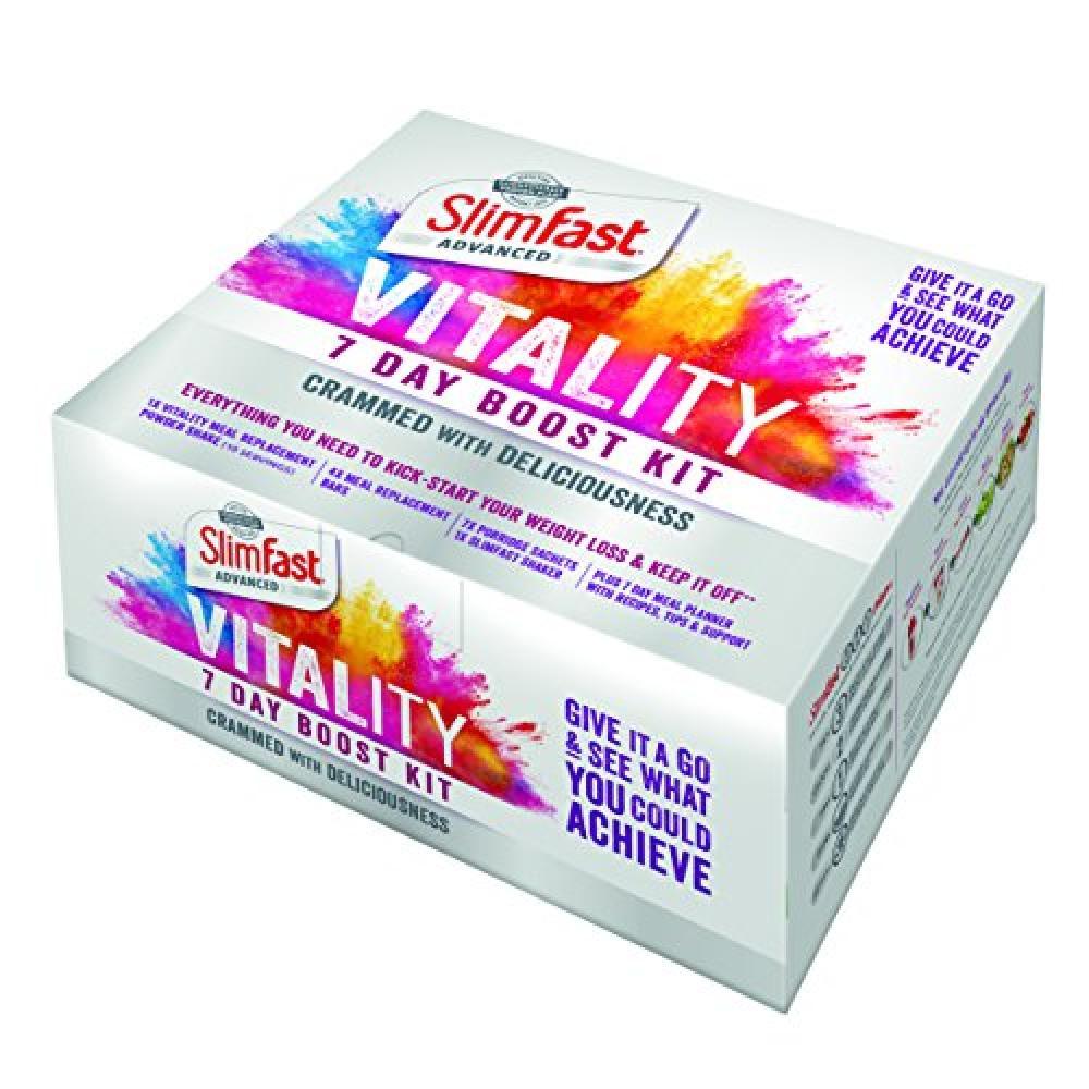 SlimFast Vitality 7 Day Boost Kit