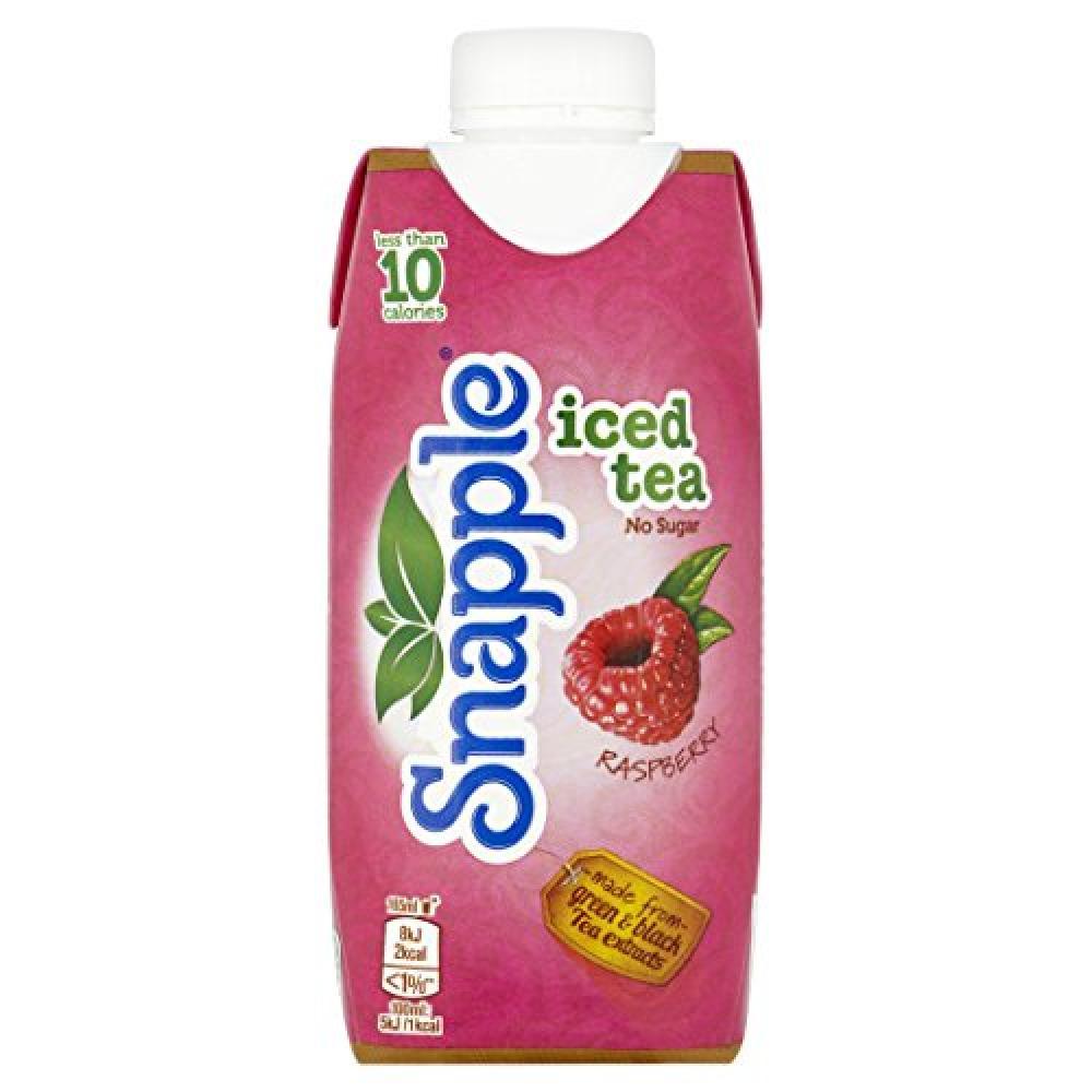 Snapple Raspberry Iced Soft Drink Tea 330ml