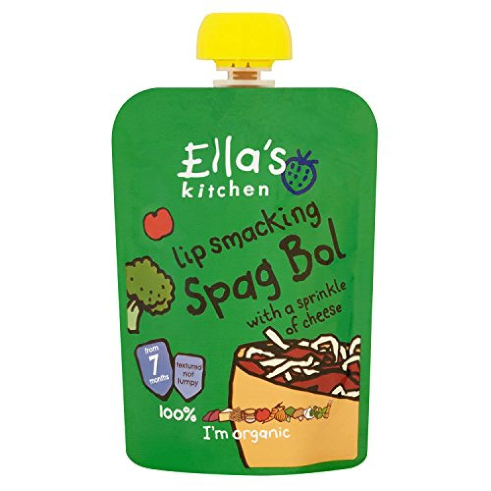 Ellas Kitchen Stage 2 from 7 Months Organic Spaghetti Bolognese 130 g