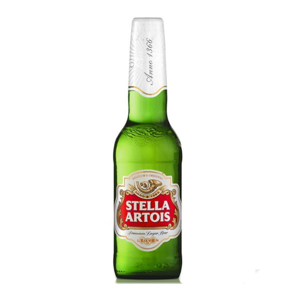 Stella Artois Lager Beer Bottle 284ml