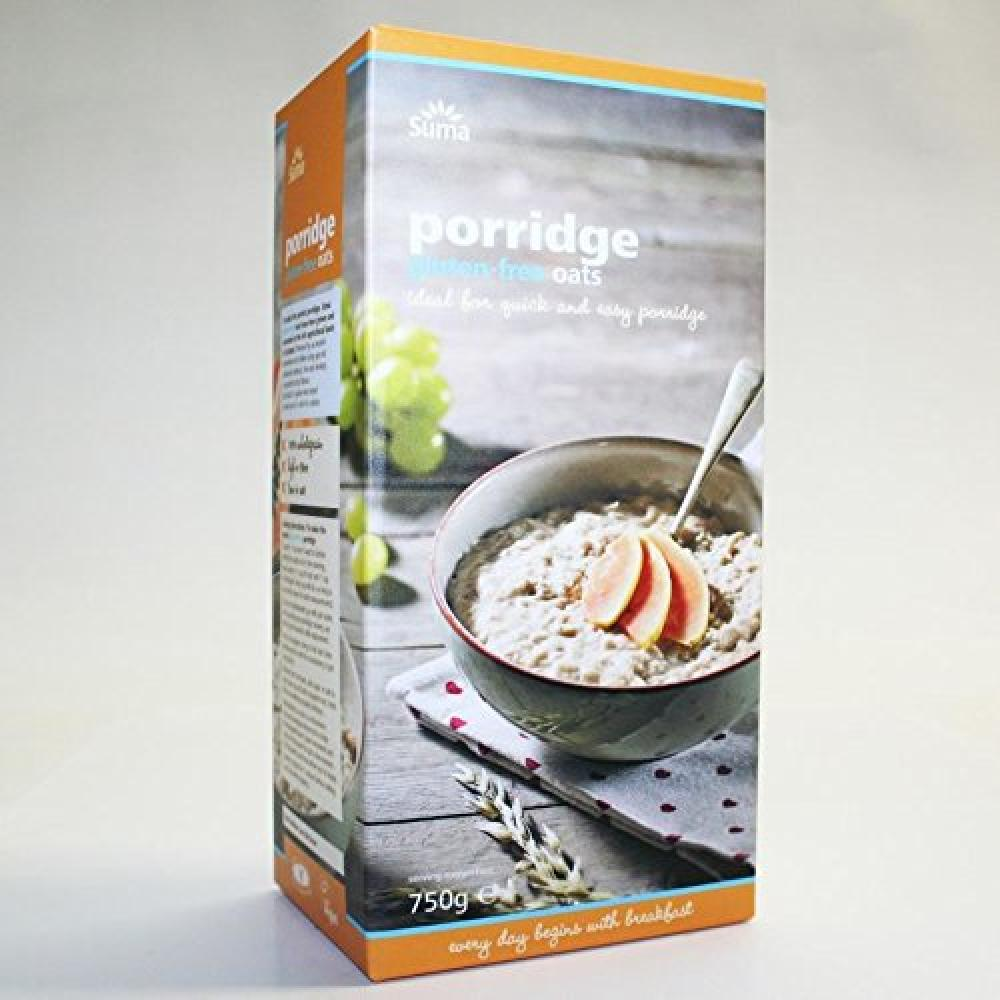 Suma Prepacks Oats Porridge and Gluten Free 750g