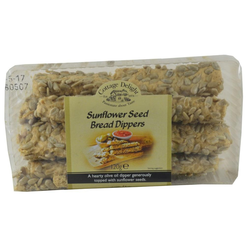 FURTHER REDUCTION  Cottage Delight Sunflower Seed Bread Dippers 120g