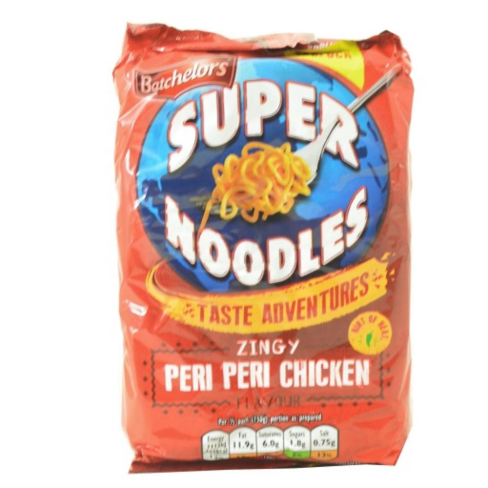 Batchelors Super Noodles Zingy Peri Peri Chicken Flavour 100g