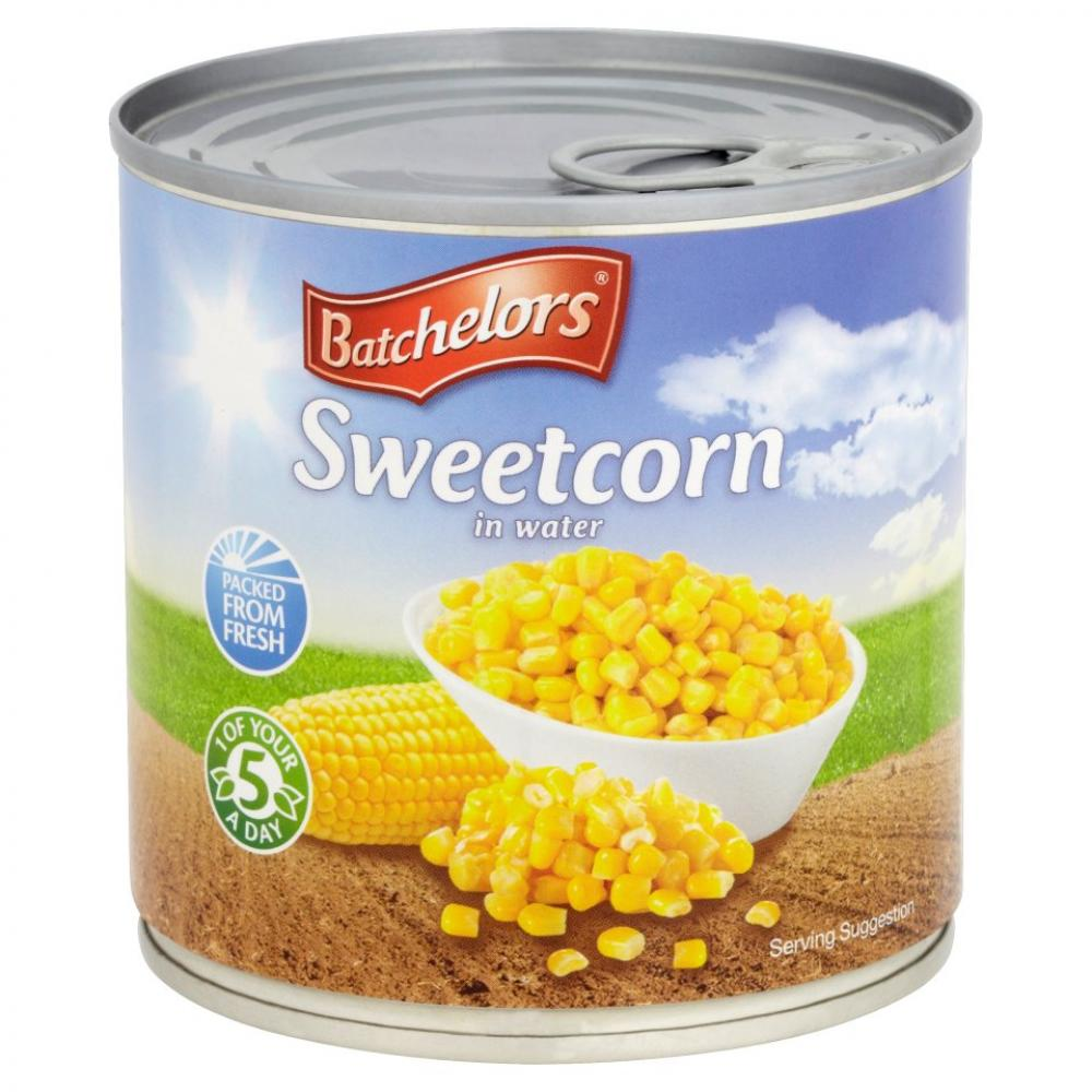 Batchelors Sweetcorn In Water 340g