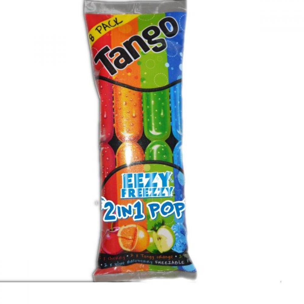 Tango Ice Pops Variety Flavours 8 Pack