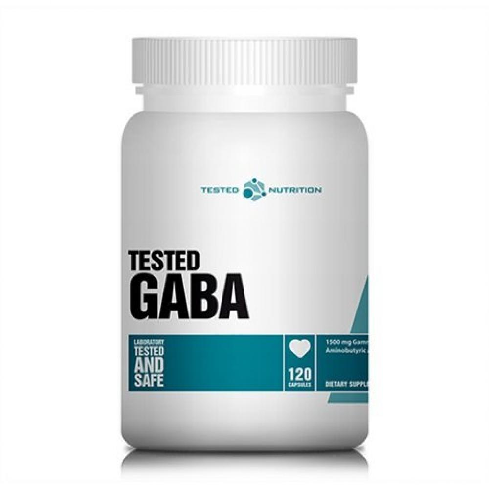 Tested Nutrition Tested GABA 120 Capsules
