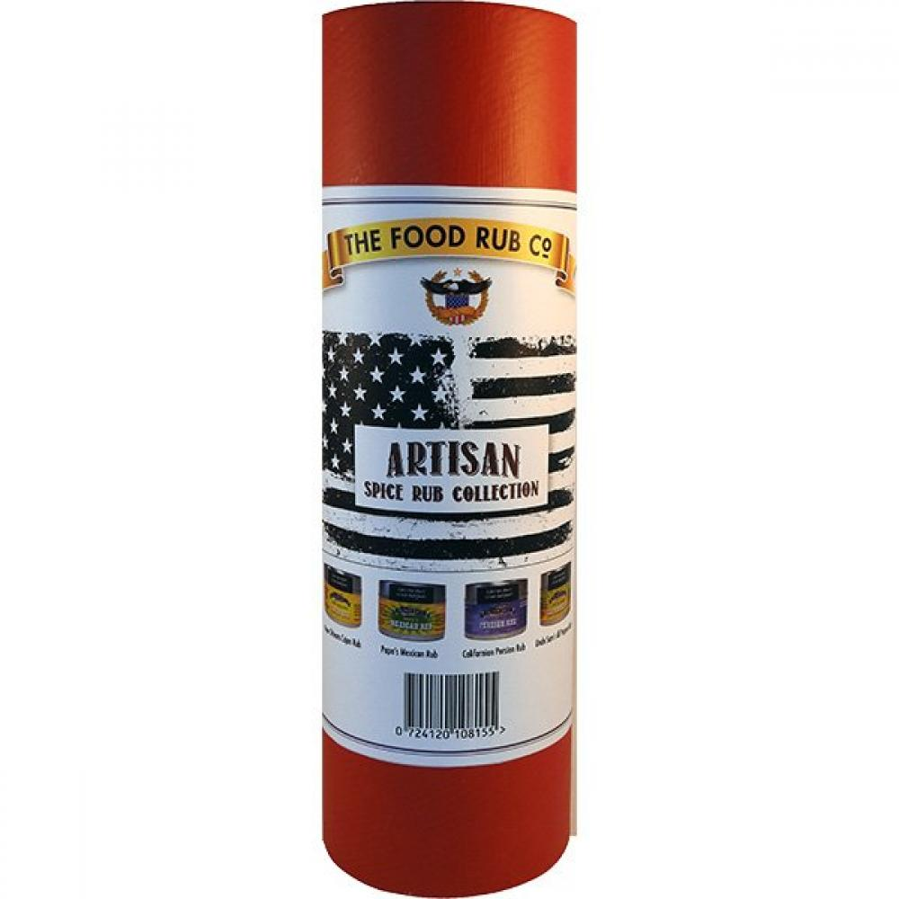 The Food Rub Co Artisan Spice Rub Collection 50g x 4