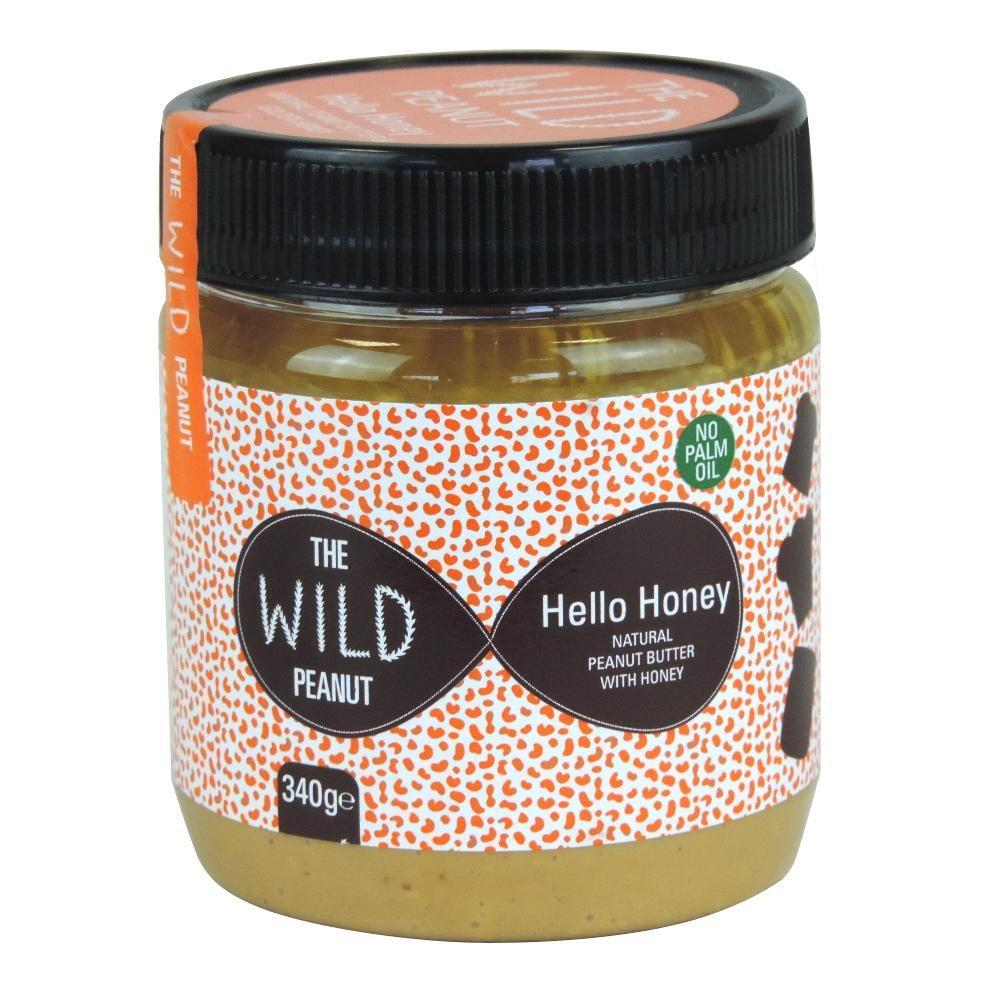 The Wild Peanut Hello Honey Peanut Butter 340g