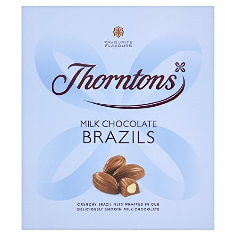 Thorntons Classics Milk Chocolate Brazils 138g