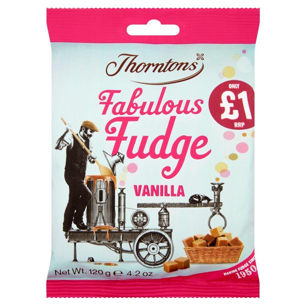 Thorntons Fabulous Fudge Vanilla 120g