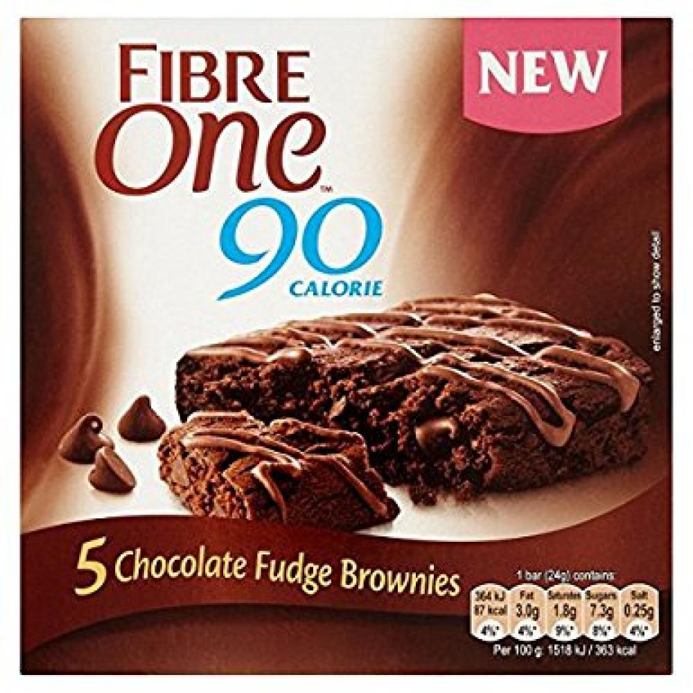 Fibre One 5 Chocolate Fudge Brownies