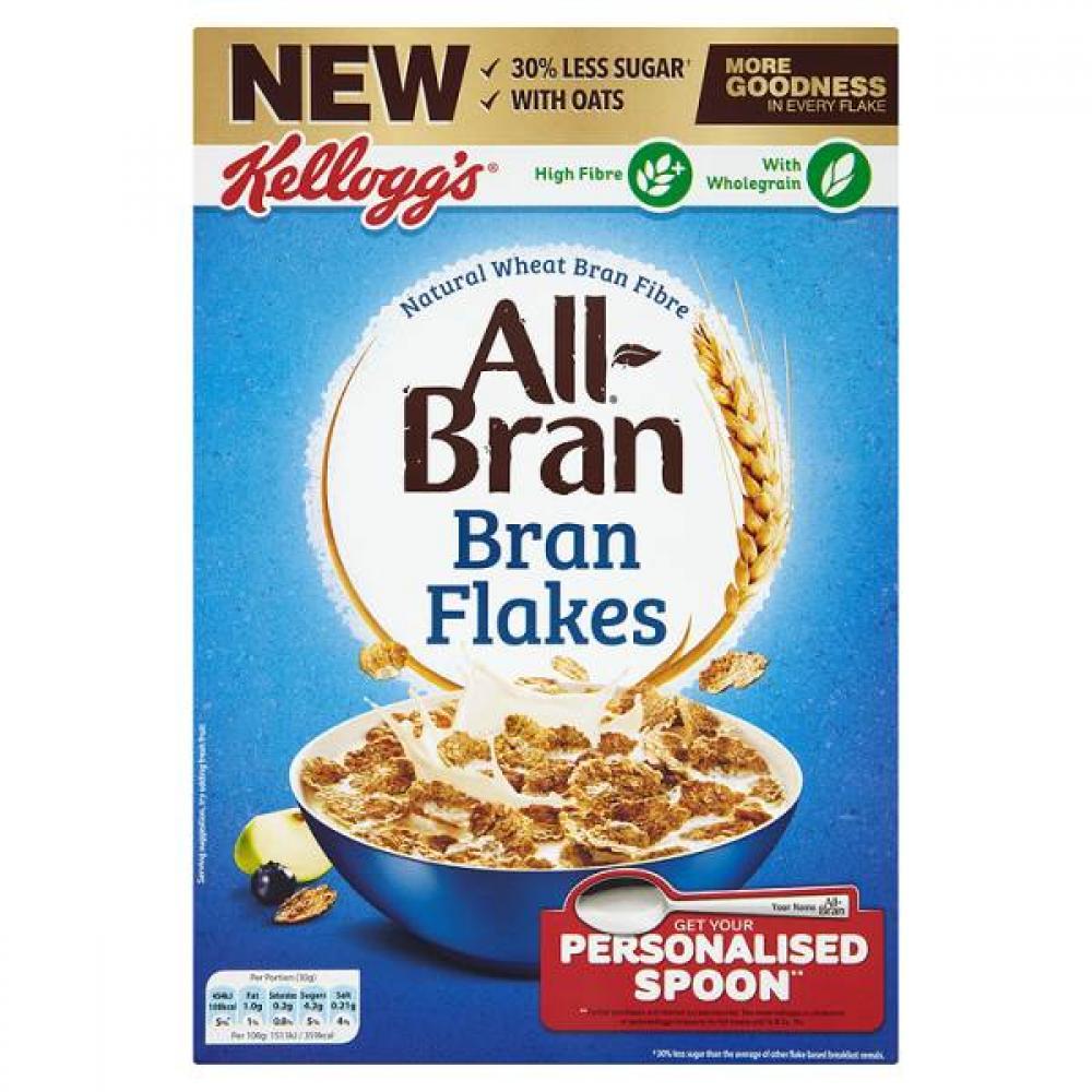 Kelloggs All Bran Bran Flakes 500g