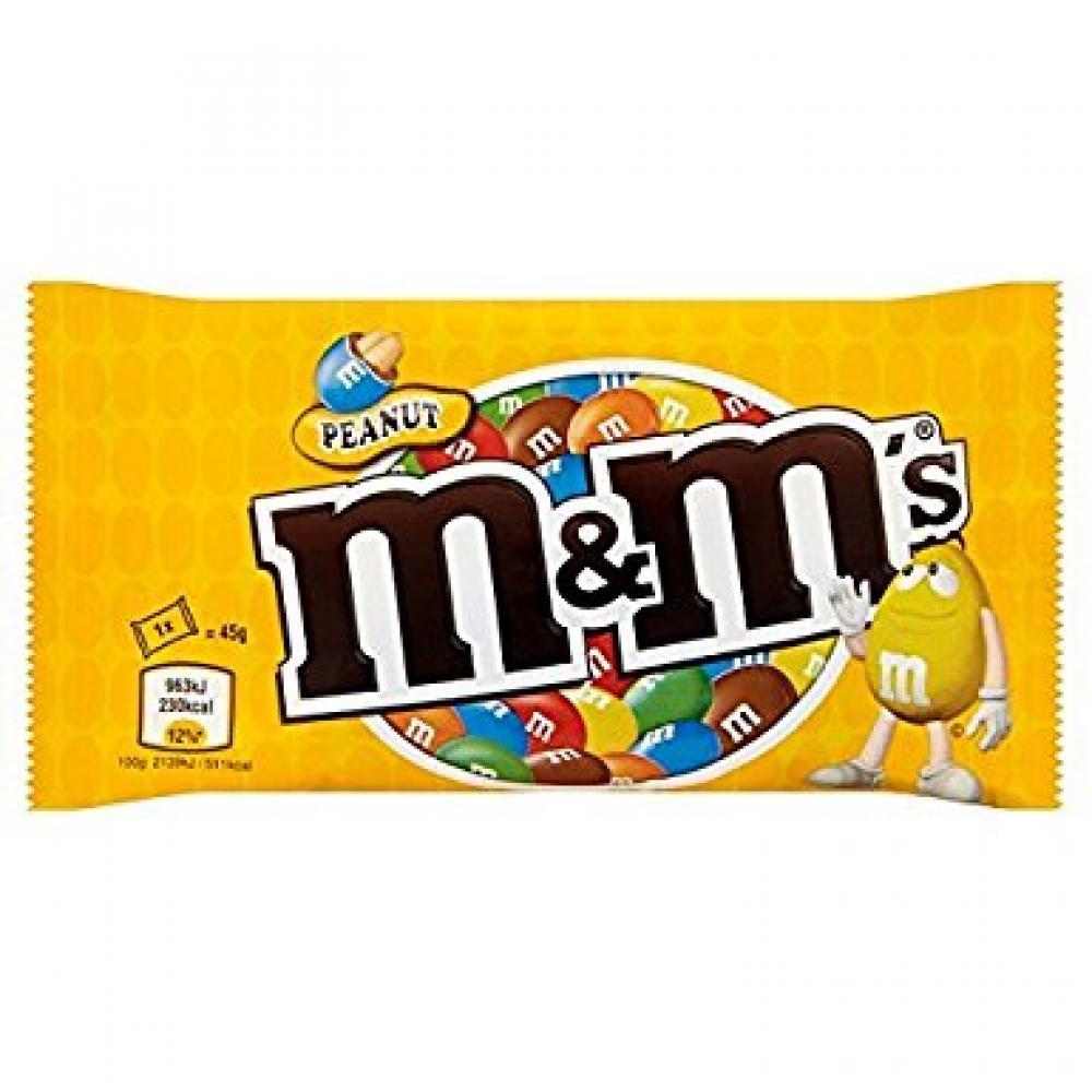 M and Ms Peanut 45g