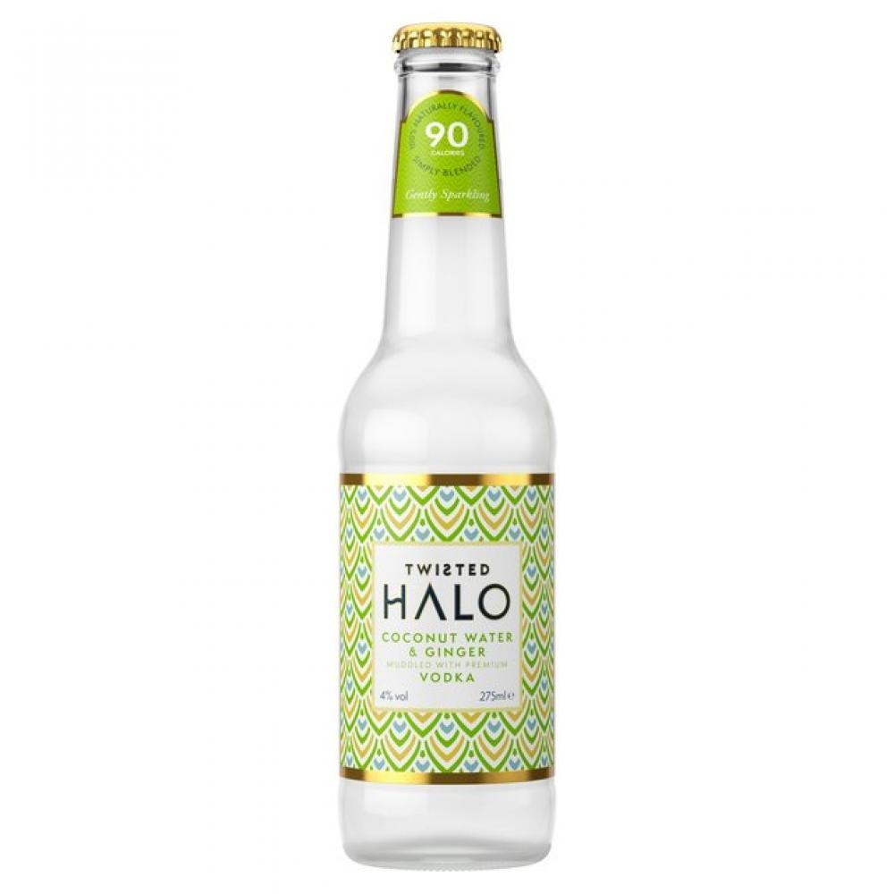 Twisted Halo Coconut Water and Ginger 275ml