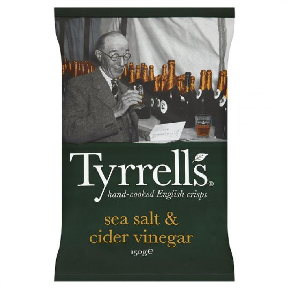 Tyrrells Sea Salt and Cider Vinegar 150g