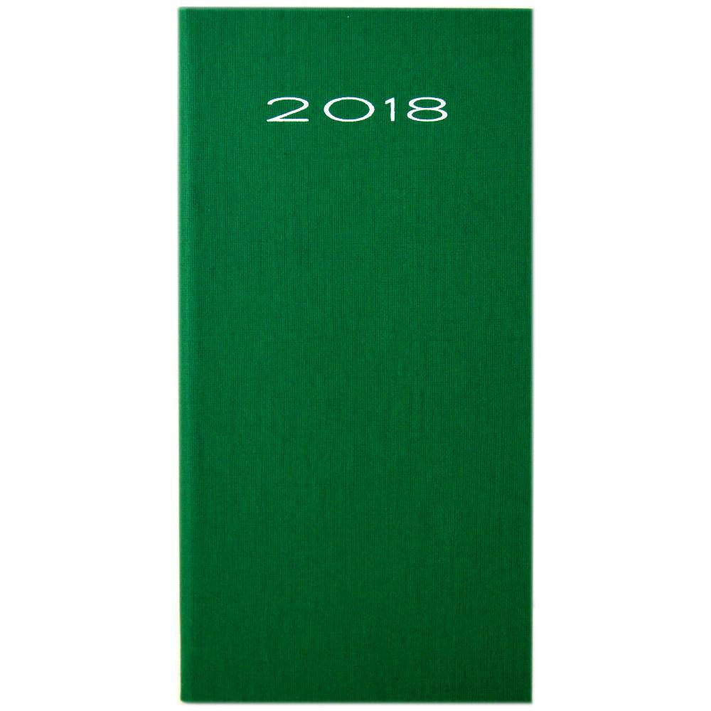 Unbranded 2018 Pocket Diary Green
