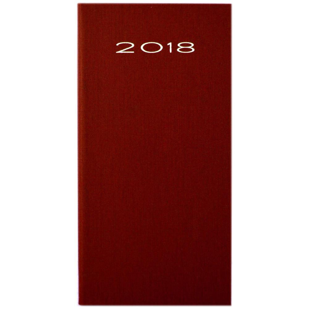 Unbranded 2018 Pocket Diary Red
