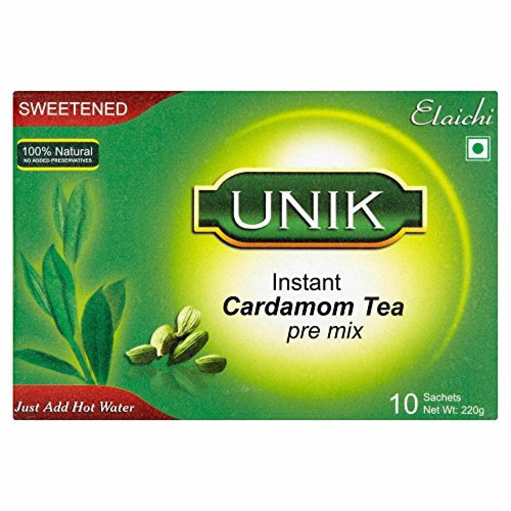 Unik Cardamom Tea Sweetened 220 g