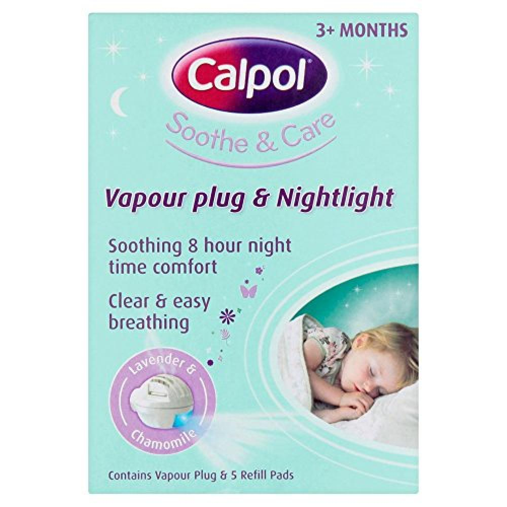 Calpol Vapouriser Night Plug In and 5 Refill Pads