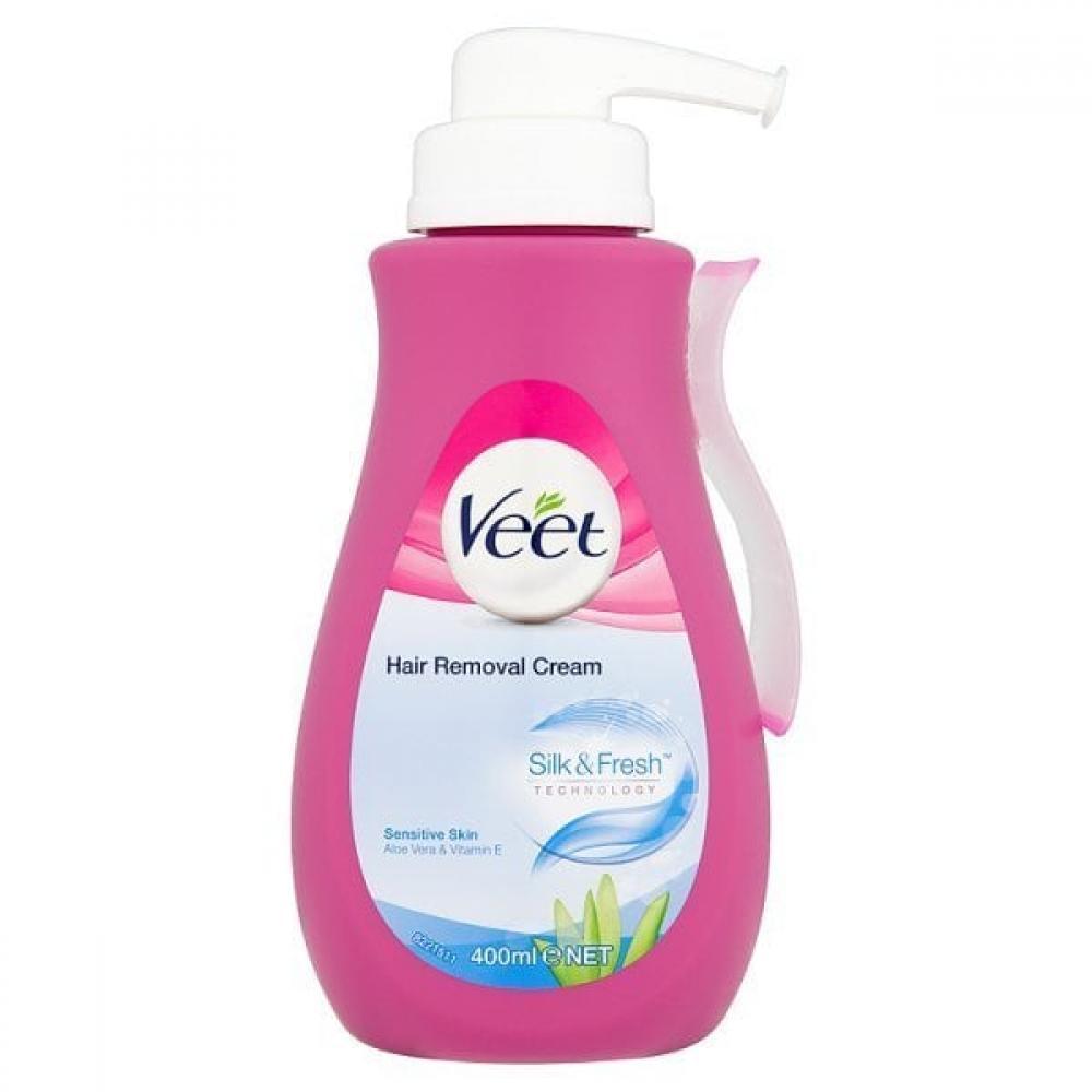 Veet Spray On Hair Removal Cream for Sensitive Skin 400ml