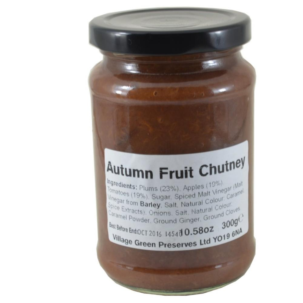 Village Green Autumn Fruit Chutney 300g