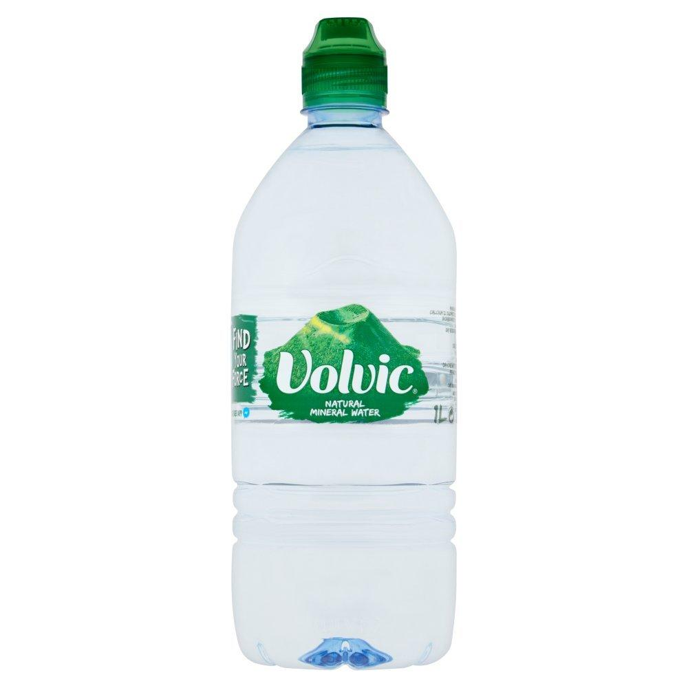 Volvic Natural Mineral Water 1 Litre