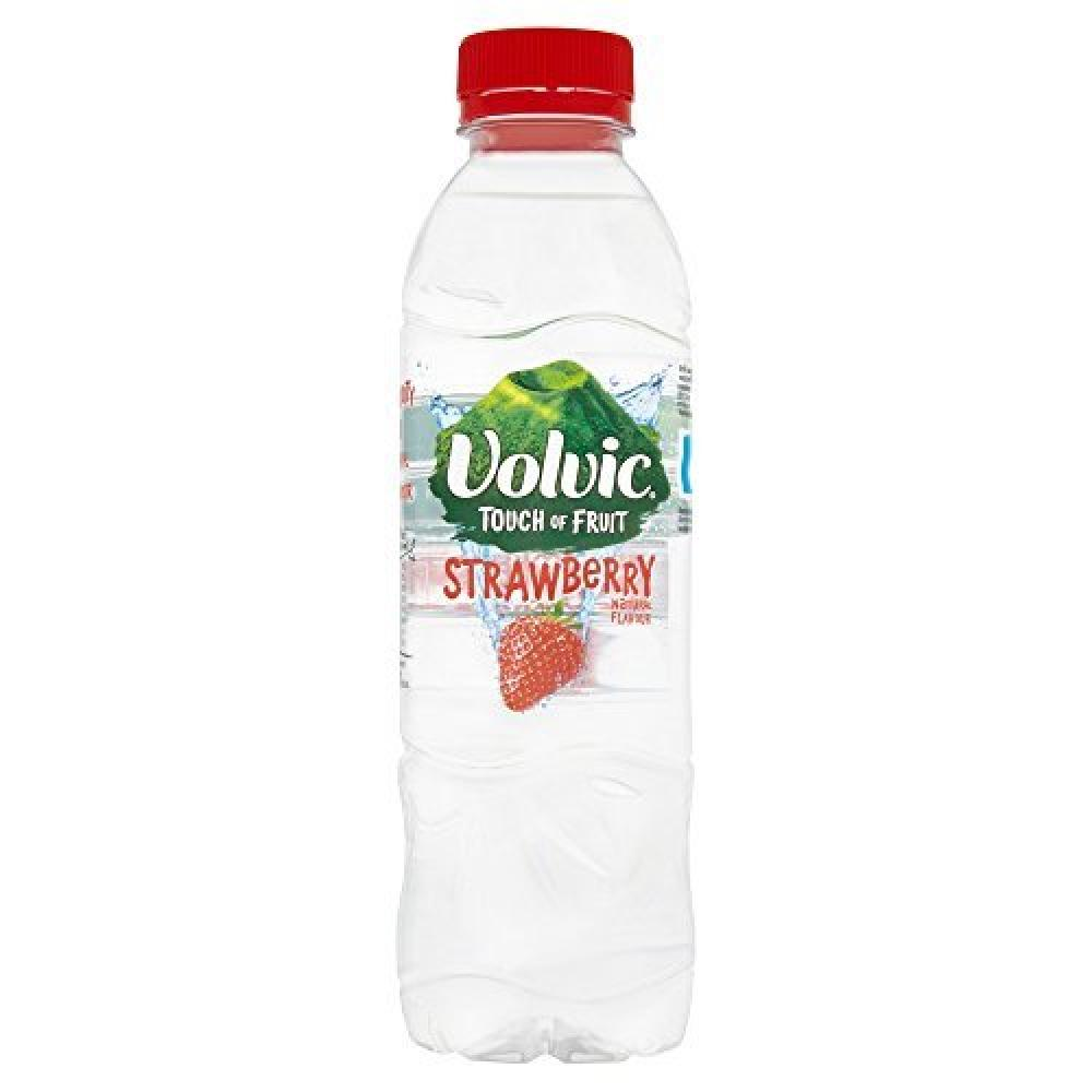 Volvic Touch of Fruits Strawberry Flavoured Water 500 ml