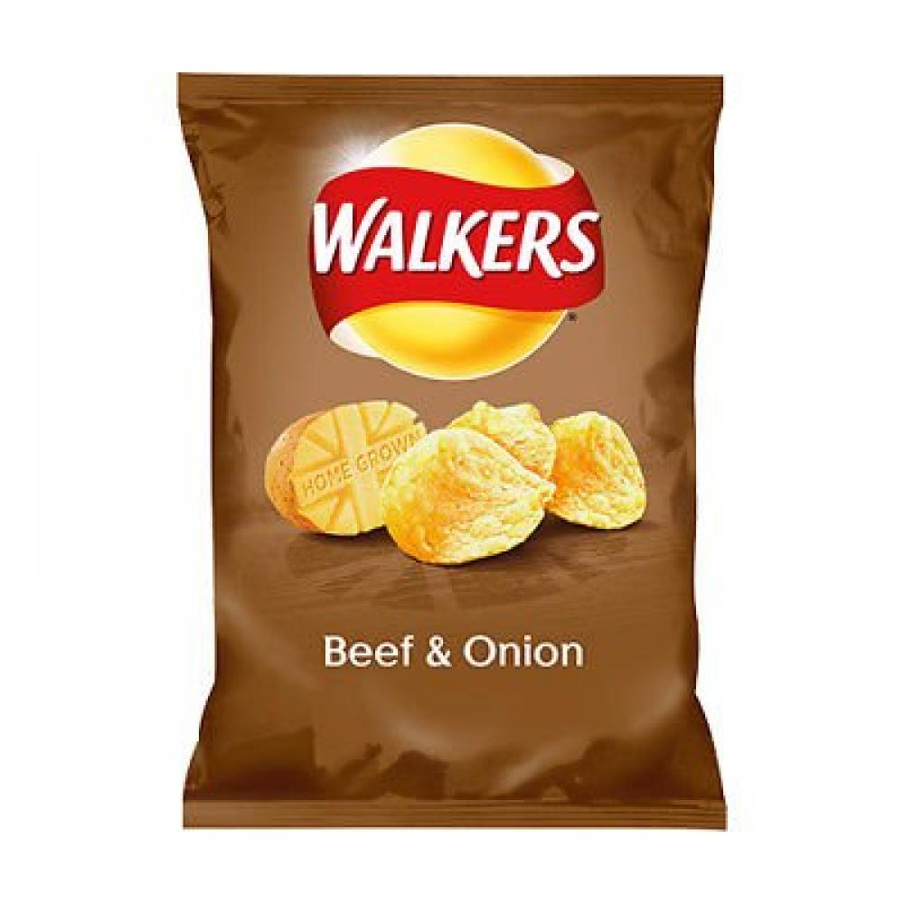 Walkers Beef and Onion Flavour 50g