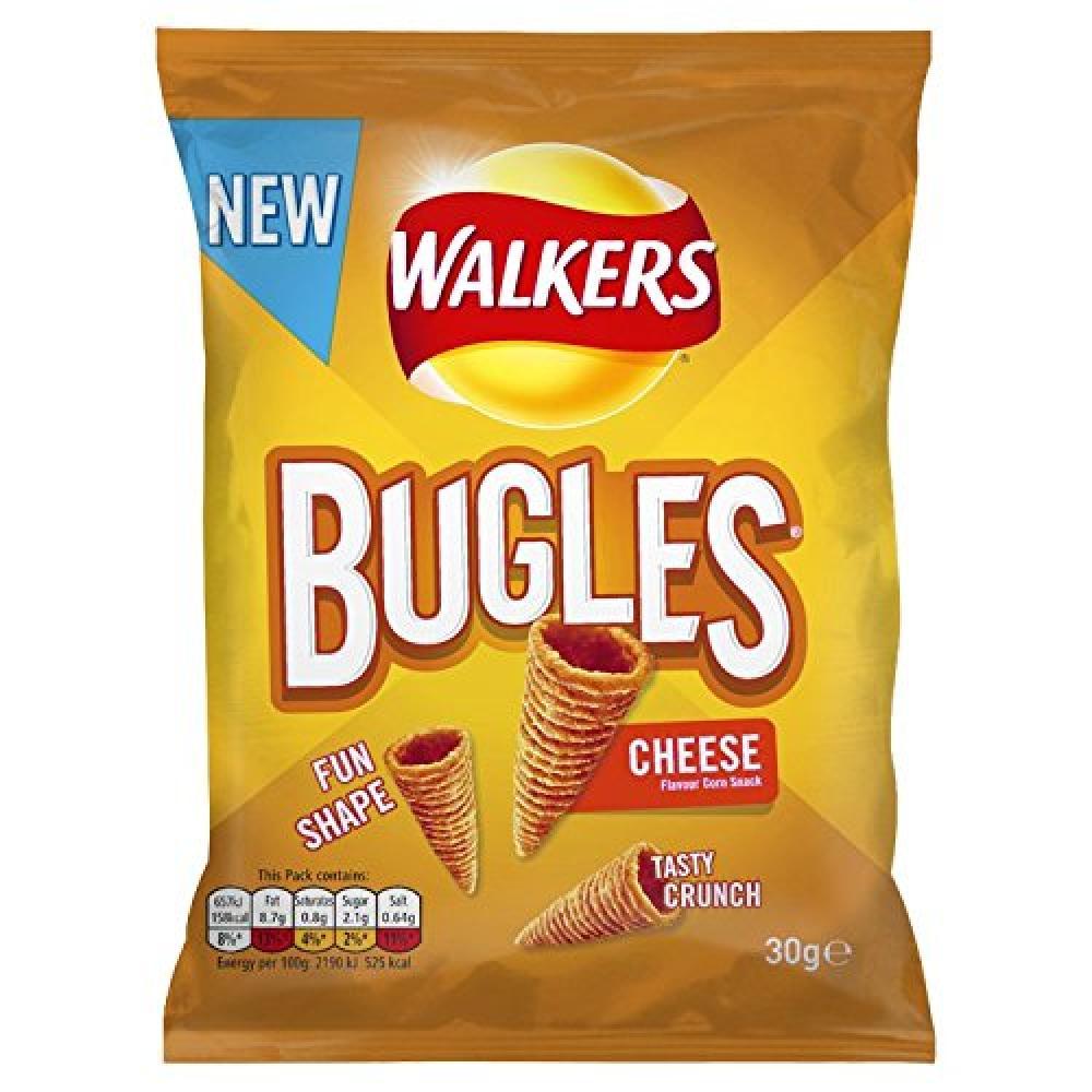 Walkers Bugles Cheese Snacks 30g