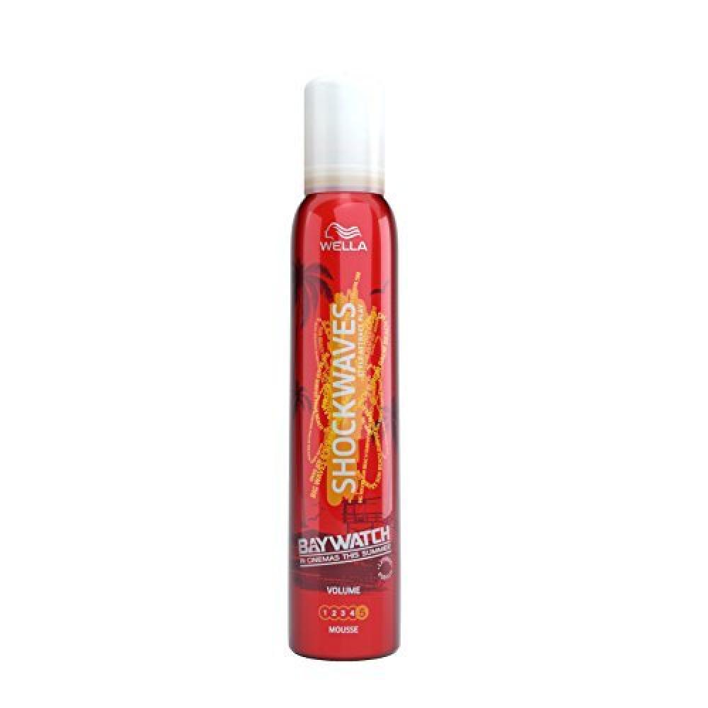 Wella Shockwaves Volume Mousse 200 ml
