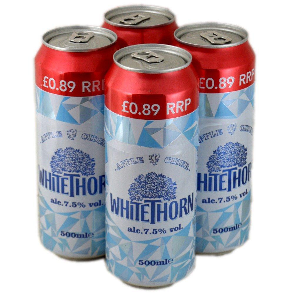 Whitethorn Apple Cider 500ml x 4