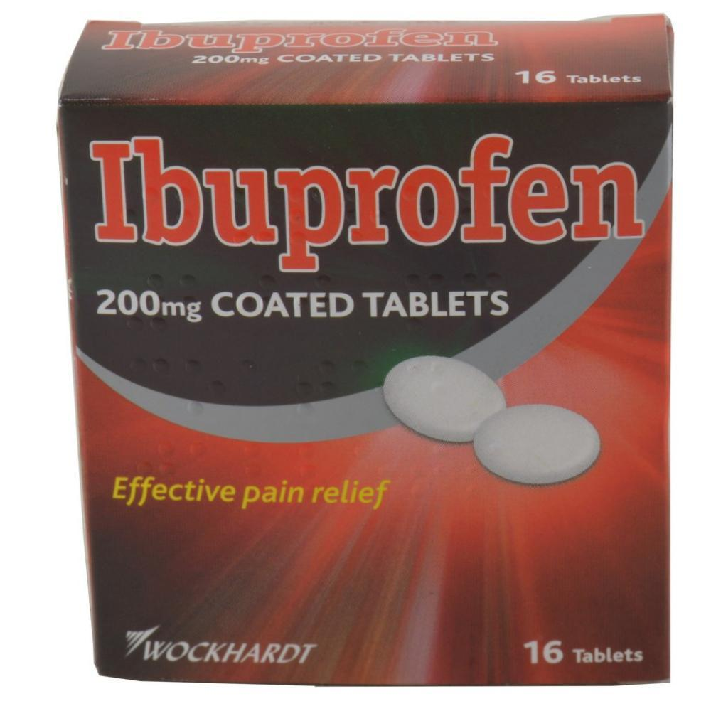 Wockhardt Ibuprofen 16 Tablets 200mg