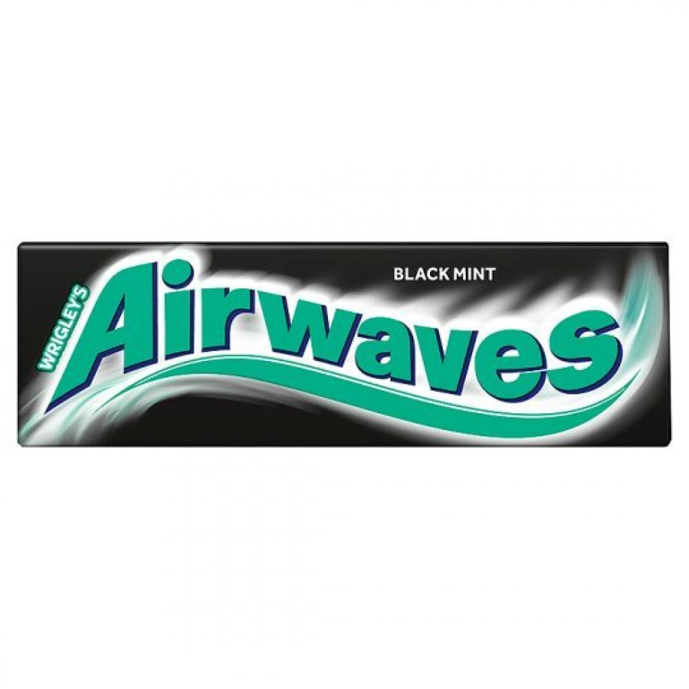 Wrigleys Airwaves Black Menthol 10 pellets