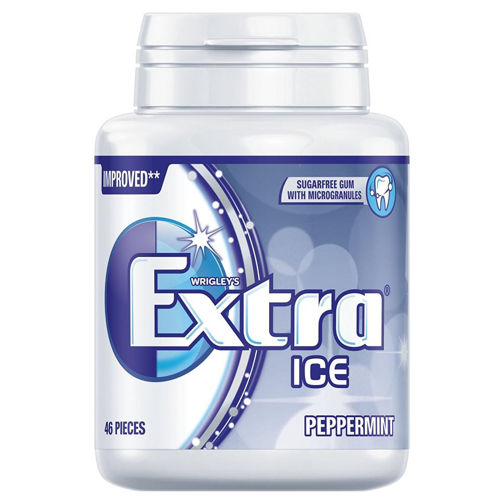 Wrigleys Extra Ice Peppermint Sugarfree Gum Pack of 46