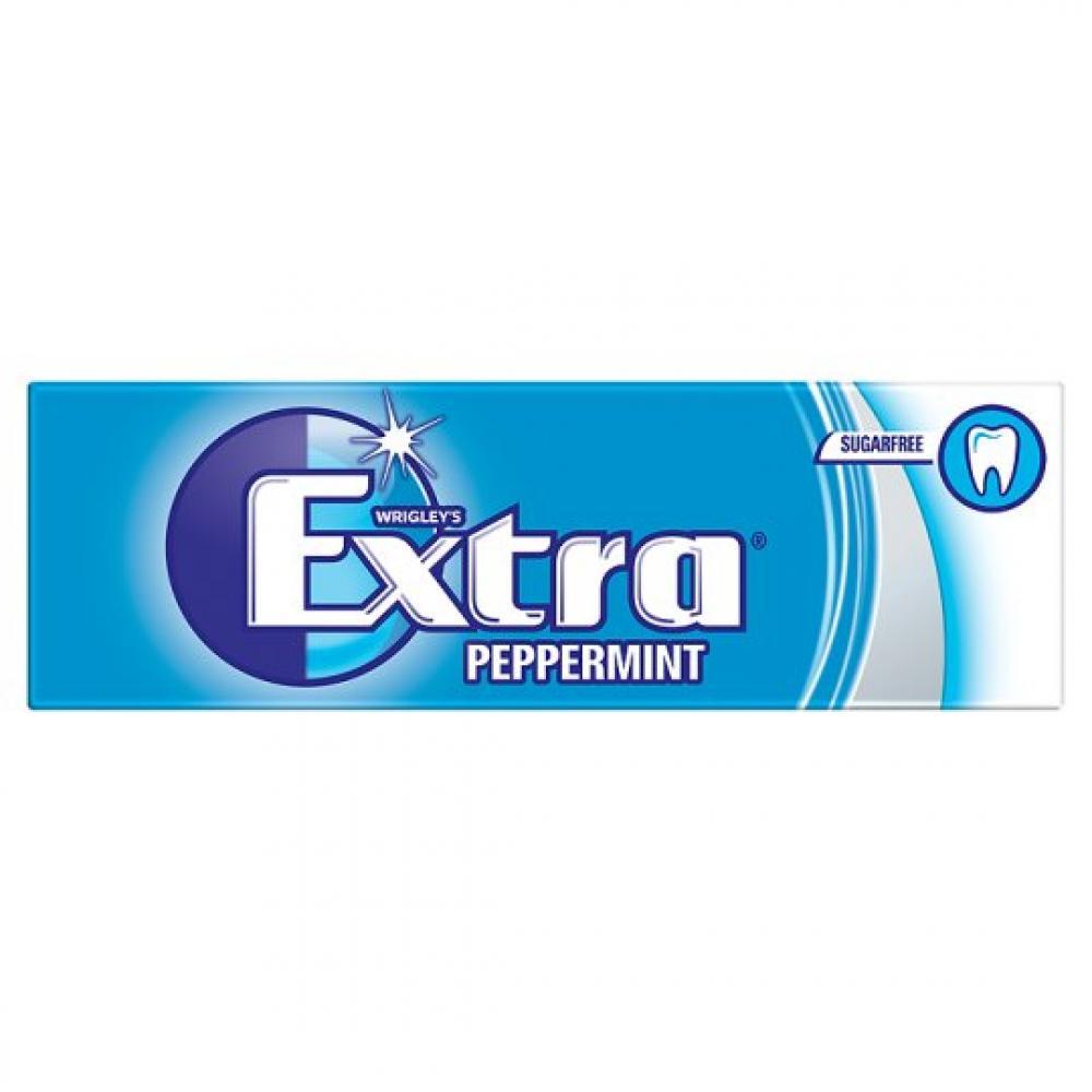 Wrigleys Extra Peppermint Sugarfree Chewing Gum