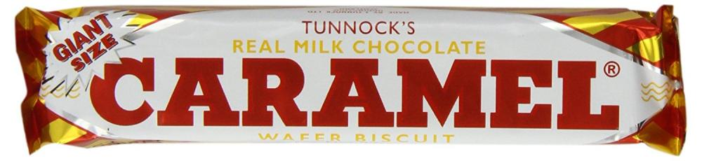 Tunnocks Real Milk Chocolate Caramel Wafer Biscuits 37 g