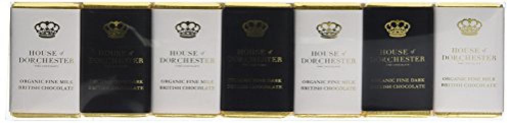 House Of Dorchester Organic Fine Milk and Dark Chocolate Slims 70 g