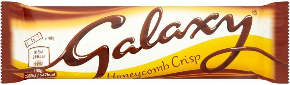 Galaxy Honeycomb Crisp 40g